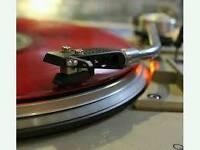 Vinyl player plus 400 LP's