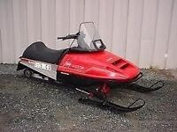 BUYING ALL BLOWN WRECKED SEIZED SITTING SNOWMOBILES ATVS