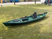 Riot Escape 12 Angler kayak with rudder on sale now