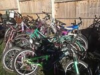 wanted any free non working scrap mountain bikes or parts will collect try me
