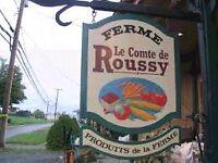 FERME LE COMTE DE ROUSSY