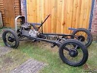 Austin 7 unfinished project and parts wanted
