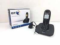 BT100 Single Digital Cordless Phone x3