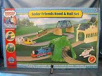 Thomas Tank Engine Sodor & Friends Road Rail Train Set