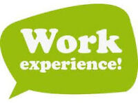 4 WEEK WORK EXPERIENCE LEADING TO FULL TIME ROLE!