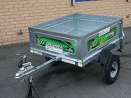 DAXARA 107 LIGHTWEIGHT TRAILER BRAND NEW IN BOX PLUS ACCESSORIES.