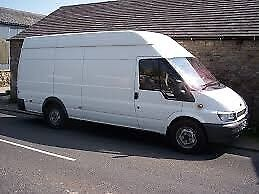 A large van for home/office removal