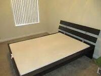 IKEA Hopen Double Bed Frame with slats