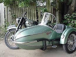 Sidecar wanted, Watsonian or similar