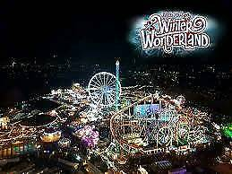 x2 Winter wonderland Magical Kingdom tickets (concession)