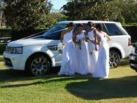 Range Rover Chauffeur Hire, Weddings,Proms, Airport runs,Special occasions,Proposals, Royal ascot.