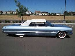 Looking for 1963 impala convertible or parts car