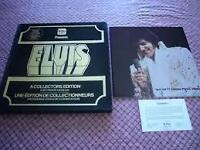 Elvis box set 5 lps and book