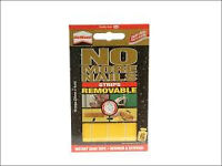 UniBond No More Nails Removable Strips 20mm x 4cm (Discount pack of 10)