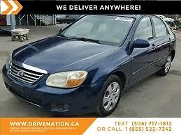 2009 Kia Spectra LX LOW KILOMETERS! GREAT COMMUTER VEHICLE!