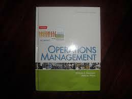 OM - Operations Management, 4th Canadian edition