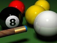 Pool Players Wanted