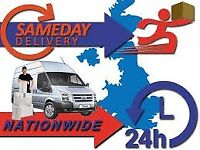 24/7 Cheap Moving Van & Man Hire House Removal Collection Delivery to All UK Sameday Courier Transpo