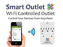 Weekly Promo! Newbeem Smart outlet,Wi-fi smart dimmer, smart timer, smart outlet, remote control,surge protect $14.99(wa
