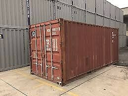 USED 20 FT SHIPPING CONTAINER IN GOOD CONDITION....GREAT FOR STORAGE