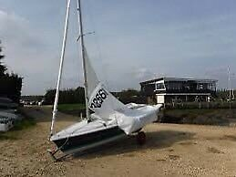 Laser 13 sailing dinghy