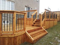 Wanting a new deck built this Summer ?
