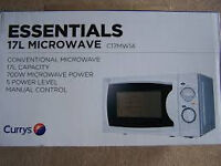 Brand new 17L Microwave oven still in box