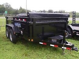 Looking for 12 ft dump trailer