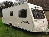2007 Bailey pageant Burgundy large 4 berth fixed bed,excellent condition