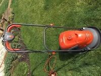 Flymo Electric and Push Lawnmowers x 2
