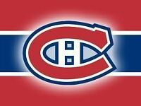 MONTREAL CANADIENS LOWER & UPPER BOWL TICKETS - TO HOME GAMES