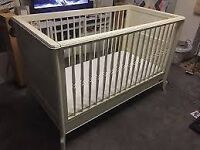 High quality ivory cream cot/junior bed CELINE MAMAS &PAPAS. DELIVERY