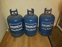 Assorted Gas Bottles ... Wood burner conversion?? See pictures.
