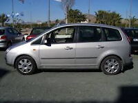2005 FORD FOCUS CMAX MPV 1600CC ENGINE, 76000 MILES, NEW CAMBELT,