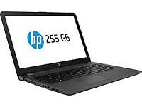 NEW HP 255 G6 Laptop, 15.6 Inch 4GB Ram 500GB HDD MS Office HDMI Webcam Antivirus 1 Year Warranty