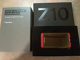 Limited edition BlackBerry Z10 in Red Unlocked