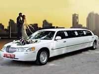HAMILTON WEDDING STRETCH LIMO LIMOUSINE