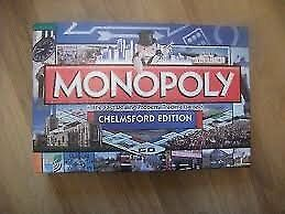 Chelmsford Monopoly Board Game - New