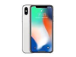 iPhone X 256GB Silver Unlocked Brand New