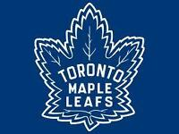 CENTRE ICE LOWER BOWL AISLE SEATS: Leafs vs Oilers