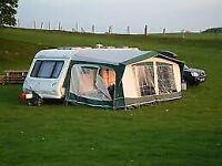 Bradcot Classic All Season Caravan Awning. Size 1050. Plus 2 Isabella Bags