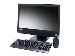 Tout en un Lenovo M90Z / Core i3 / 3.07 Ghz / 4 Go / HDD 250 Go / Écran 23 pouces / Windows 7 Pro