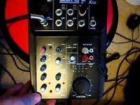 Alto Pro ZMX52 5 Channel Compact Mixer