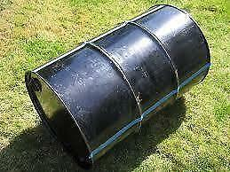 Steel Drum for BBQ, garden water storage, make your own compost