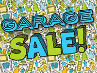 2nd Annual Giant Community Garage Sale!