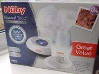 Nuby digital breast pump