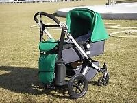 bugaboo cameleon 2 (green) plus accessories (£60) and free Silvercross car seat. Buyer collects.