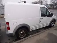white ford transit connect 2006 full year mot, great runner, £1650