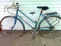 Raleigh Athena ladies 1980s bike