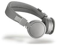 URBANEARS BLUETOOTH HEADPHONES - GREY (ALMOST NEW)